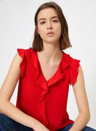 Koton Bluz Kırmızı